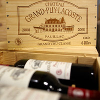 Château Grand-Puy-Lacoste box and stamp