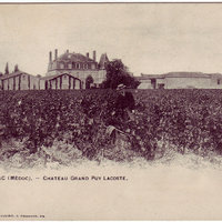 Château Grand-Puy-Lacoste in 1888