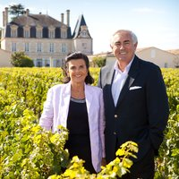 François-Xavier and Marie-Hélène Borie in the Vineyard